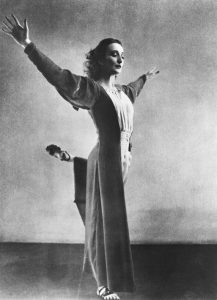 coreografa Doris Humphrey