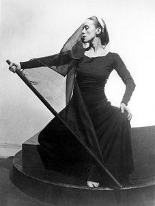 ballerina Martha Graham