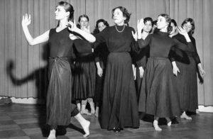 la danzatrice Mary Wigman