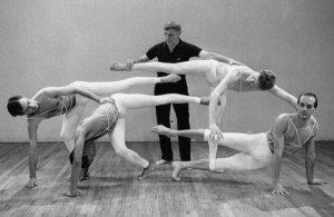 il coreografo Murray Louis