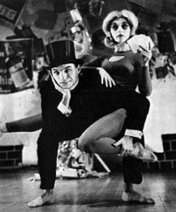 Murray Louis durante uno spettacolo di danza