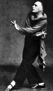 il ballerino Rudolf Laban