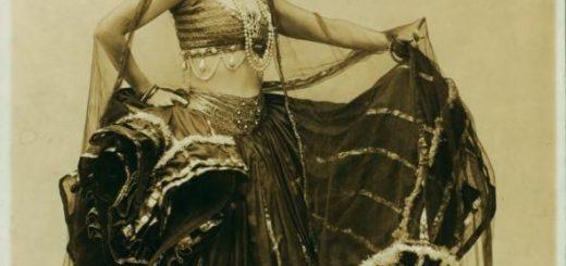 La ballerina Ruth St. Denis