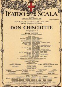 Musiche del Don Chisciotte
